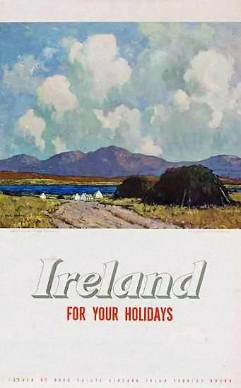 Ireland | Vintage travel poster | European