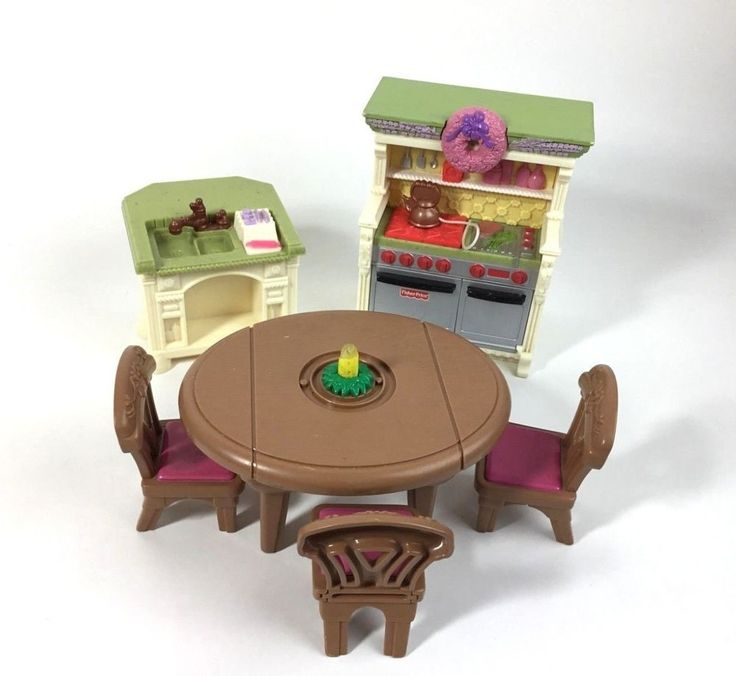 Fisher Price Loving Family Kitchen: Loving Family Dollhouse Furniture Kitchen Dining Room