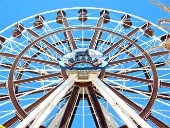 The Southeast's tallest Ferris Wheel at The Wharf. #stay #play #GulfShoresPlantation