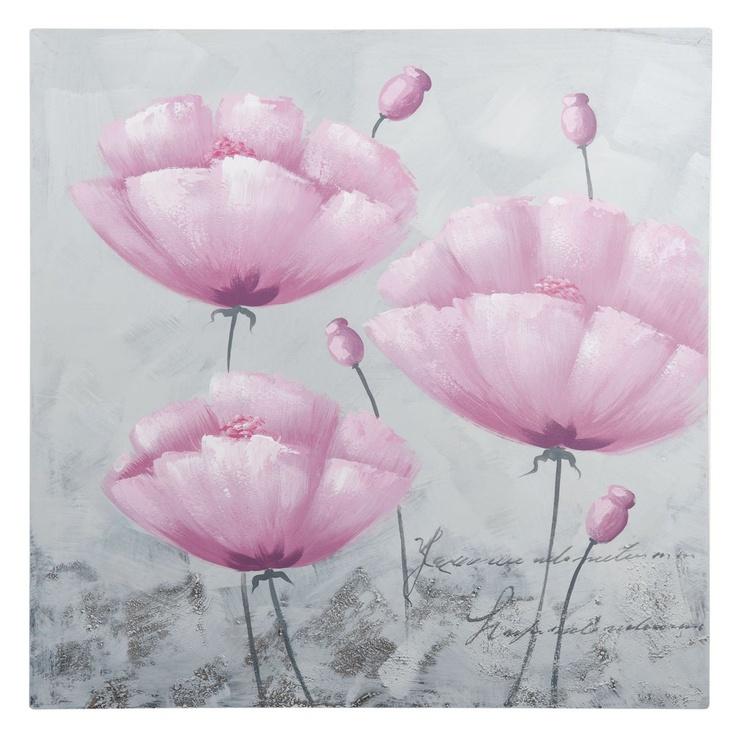 toile fleurs ad le d corations murales pinterest volont d corations murales et fiches. Black Bedroom Furniture Sets. Home Design Ideas