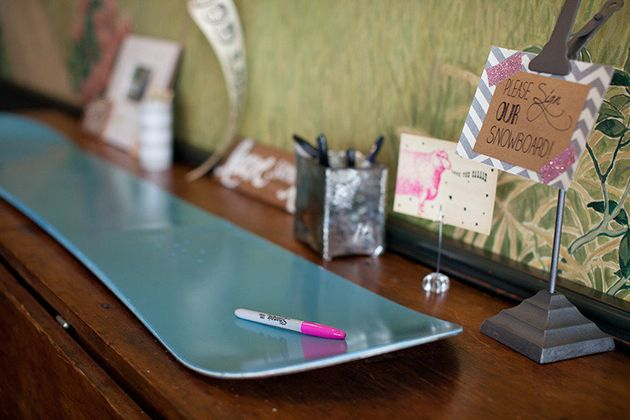 Winter-Inspired Guest Books