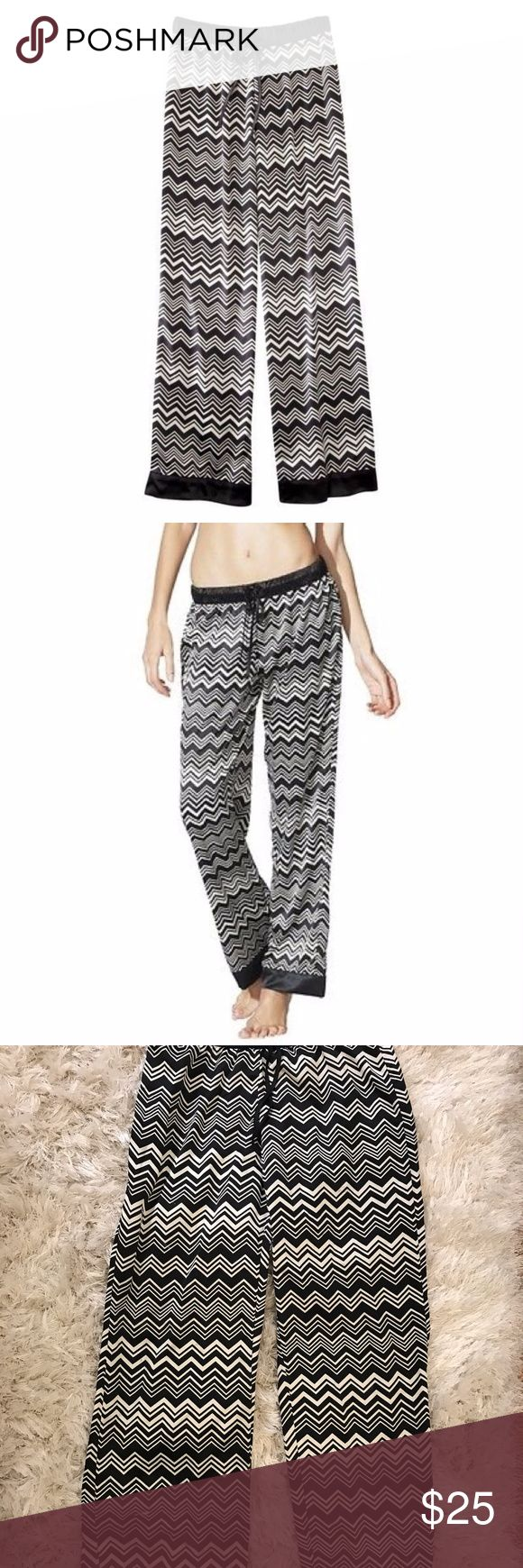 Missoni Chevron Pants NWT MISSONI Pajama Pants Size: XS  100% Polyester • Machine Washable Missoni for Target Pants