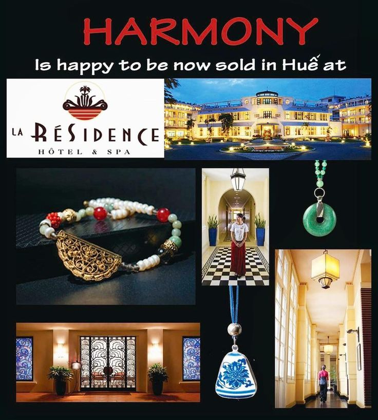While you are traveling, HARMONY can be purchased at @laresidencehue LUXURY RESORT, 5 Le Loi street, Hue. Don't hesitate to contact us: harmonynecklaces@gmail.com Facebook: facebook.com/harmonynecklaces Phone: (+84) 0838227774 Worldwide commercial.. Following us for latest update. . #laresidence #hue #resort #spa #hotel #saigon #vietnam #travel #inspiration #wanderlust #fashiondesigner #fashion #traveling #ladiesfashion #like4like #followforfollow #jewelrydesigner #landscape #diy #handmade