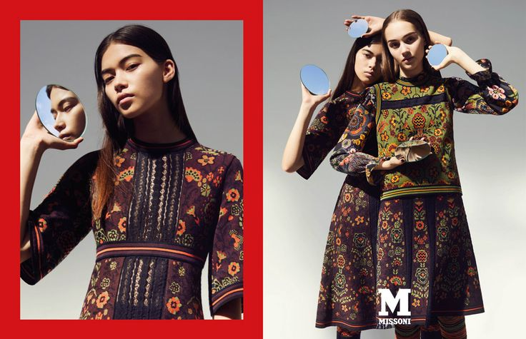 M Missoni's Fall 2017 Ad Campaign, The best ad campaigns available to view at TheImpression.com - Fashion News, Runway, Fashion Films their knitwear is still too dope