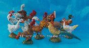 "5"" Scale Barnyard Birds - 12Pc"