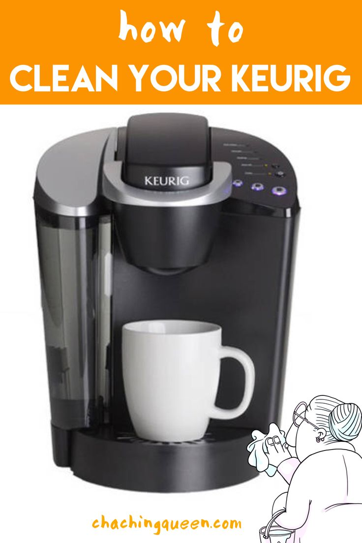How to clean a keurig coffee maker with vinegar cha