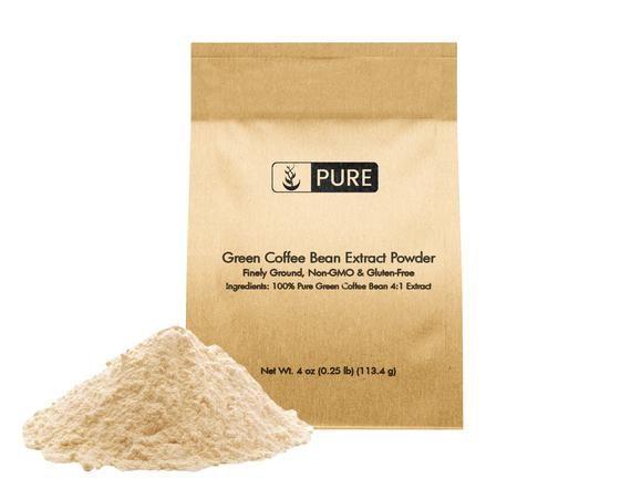 Green Coffee Bean Extract Powder 4 Oz In 2020 Green Coffee
