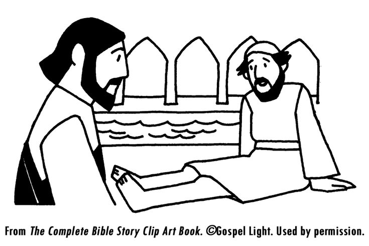 1000 images about jesus heals lame man at pool on for Healing at the pool of bethesda coloring page