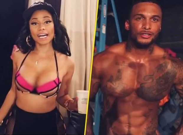Nicki Minaj Anaconda Clip with David McIntosh Kelly Brook Boyfriend