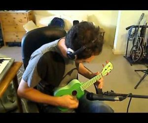 Sultans Of Swing Solo On Cheap Ukulele ( Video )