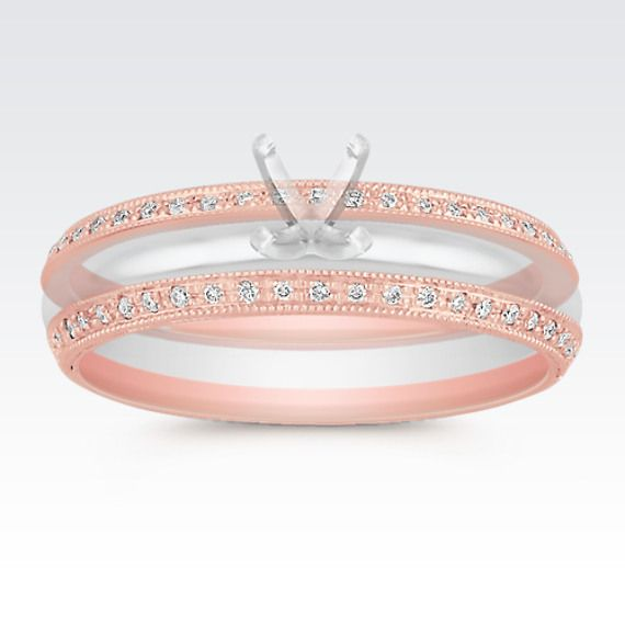 1000+ Ideas About Double Wedding Bands On Pinterest
