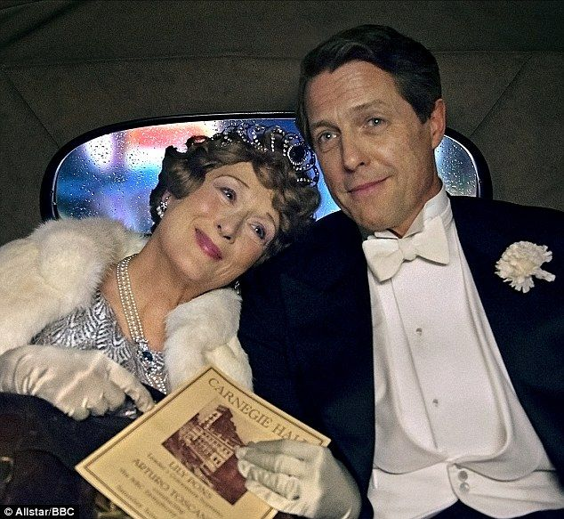 In Grant¿s latest film, ¿Florence Foster Jenkins¿, he stars opposite Meryl Streep, who plays a New York heiress who dreamed of becoming an opera diva despite having a terrible voice