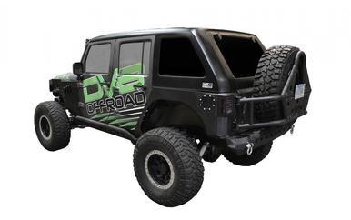 Jeep JK Hard Top Fast Back 07-18 Wrangler JK 4 Door 1 Piece DV8