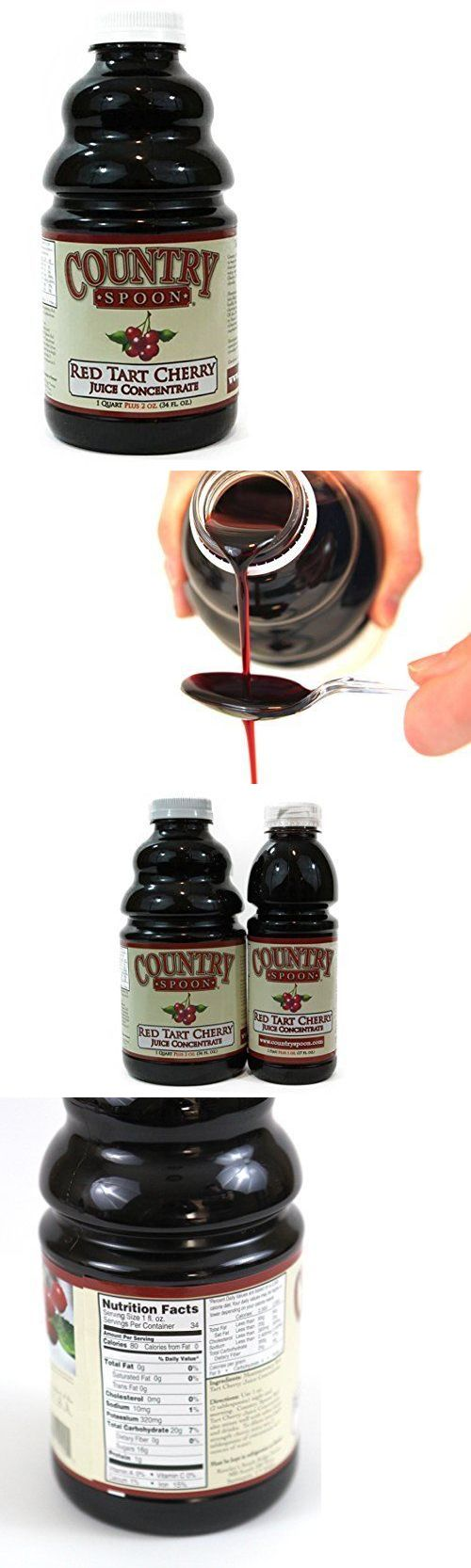 Fruit Juices 179176: Country Spoon Montmorency Red Tart Cherry Juice Concentrate 34Oz, New -> BUY IT NOW ONLY: $31.5 on eBay!