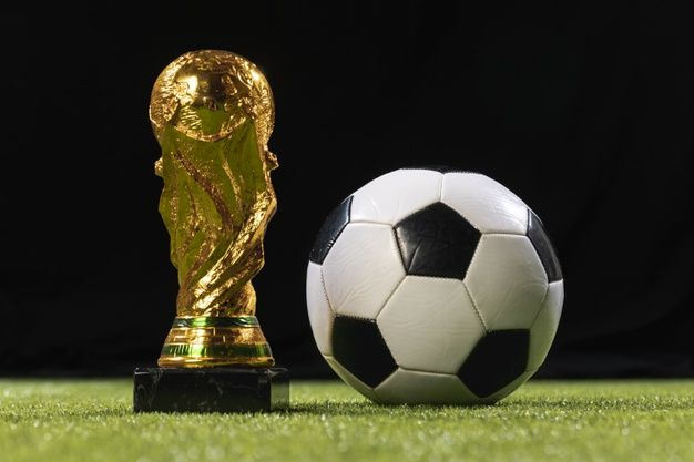 Download Close Up World Cup Trophy With Soccer Ball For Free World Cup Trophy Soccer World Cup