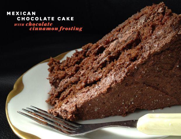 Mexican Cocoa Cake Recipe