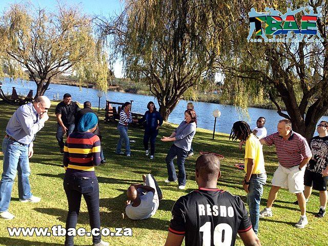 First National Bank Corporate Fun Day and Minute To Win It Team Building Benoni