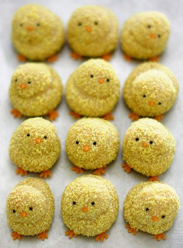 Click Pic for 28 Easter Cookie Recipes - Cutie Chickies - Easy Cookie Recipes for Kids | Easter Treats