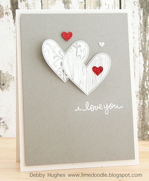 1362 best Card IdeasHearts  Love images on Pinterest  Heart