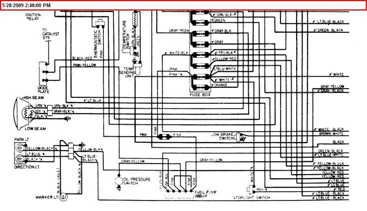 1975 corvette fuse box wiring diagrams chevrolet c6 2005 ...