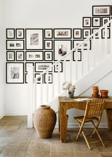 Stairway Wall Decorating Ideas 119 best stairs images on pinterest | stairs, banisters and