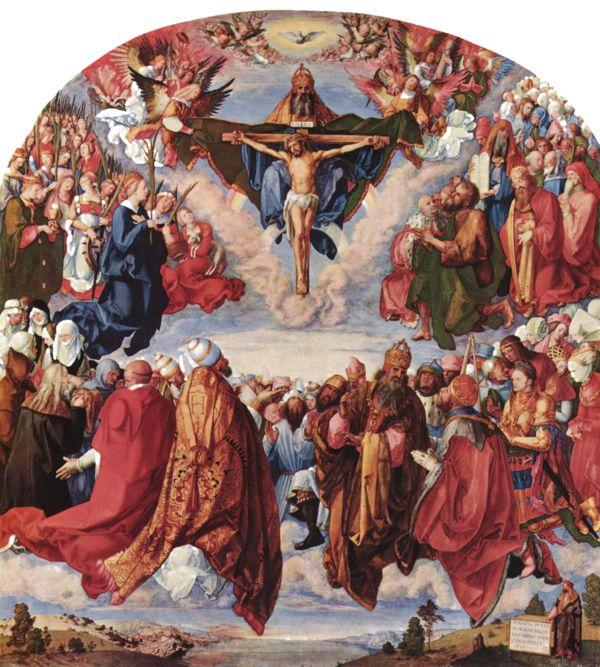 Adoration of the Trinity for Matthäus Landauer in Nuremberg 1509-1511