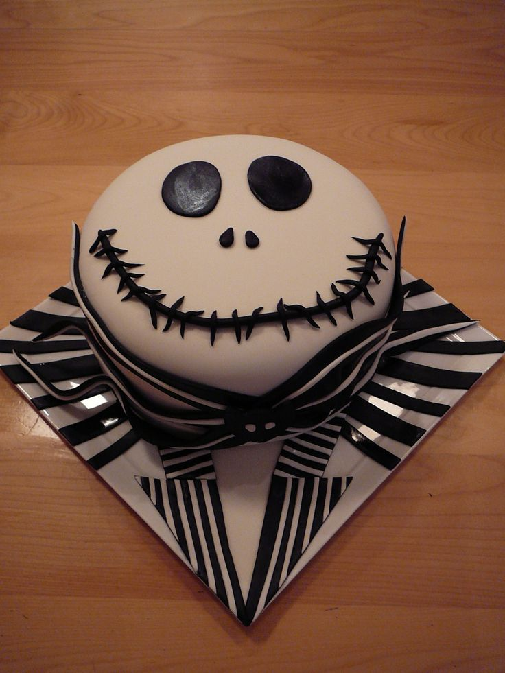Nightmare Before Christmas Birthday Cakes