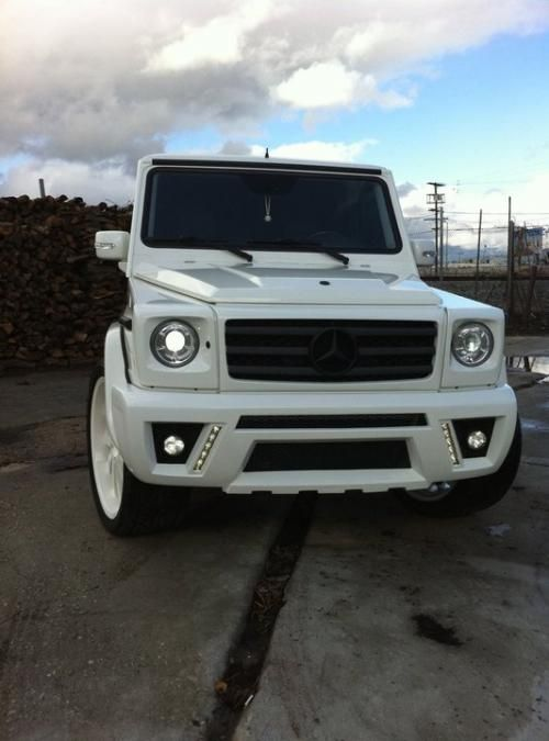 mercedes g 500 white amg - Google Search