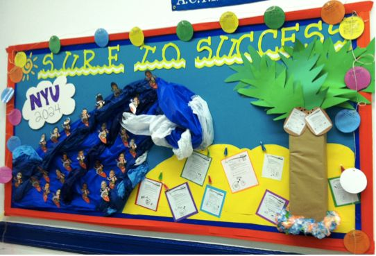 Classroom bulletin board ideas From Success Academy Charter Schools   Screenflex Portable Partitions