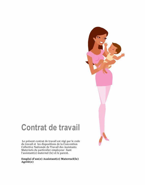 Contrat de travail conforme à la loi et modèle de livret d'accueil pour assistante maternelle facile et rapide à compléter avec vos informations.