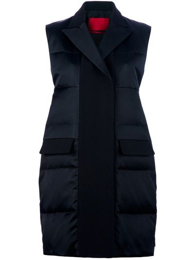MONCLER GAMME ROUGE Sleeveless Padded Coat