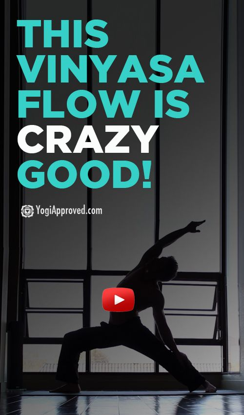 This Vinyasa Flow Is Crazy Good  (Video)