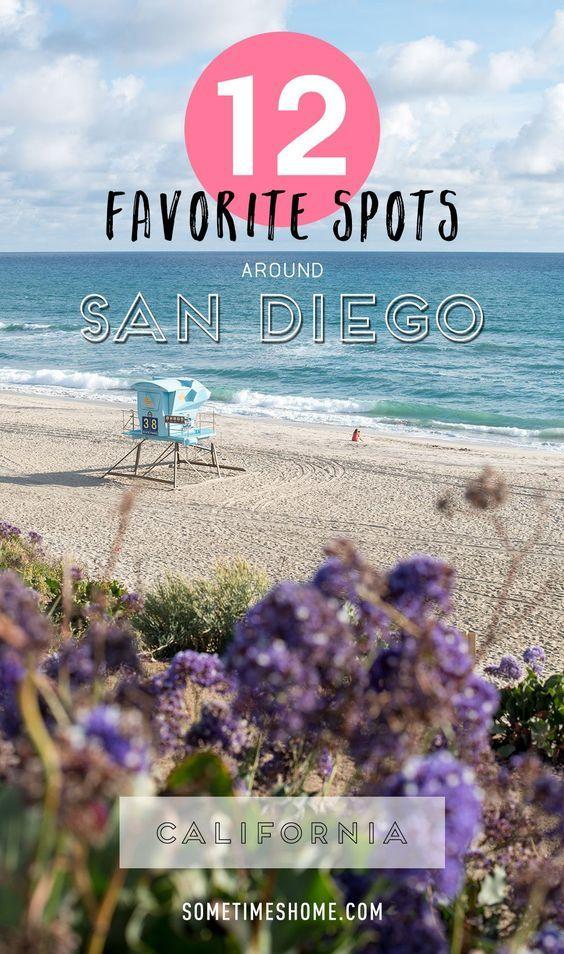 My 12 Favorite Spots Around San Diego California.