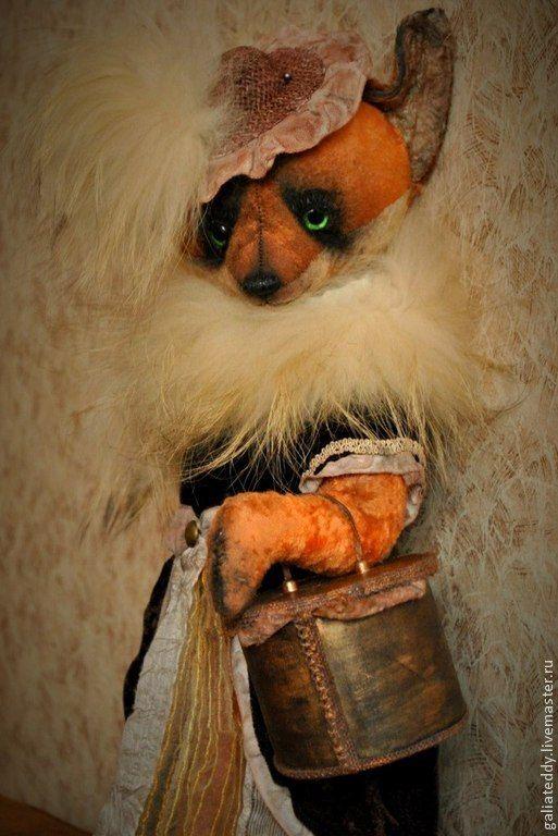 Лисичка Ирен - рыжий,лиса,лиса игрушка,лиса тедди,тедди,лисичка,лисичка игрушка