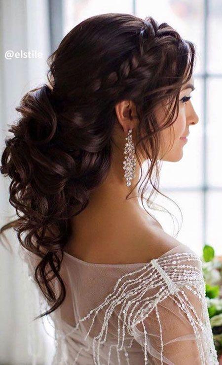 20 Lange Lockige Hochzeit Frisuren 2017 Beauties Pinterest
