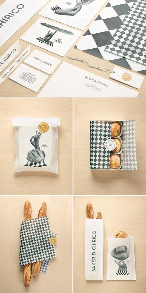Australian baker Daniel Chirico. Designed by Fabio Ongarato - packaging