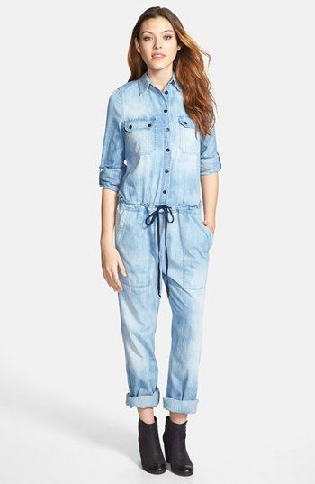 $328, Annaika Denim Jumpsuit by Citizens of Humanity. Sold by Nordstrom. Click for more info: http://lookastic.com/women/shop_items/141387/redirect