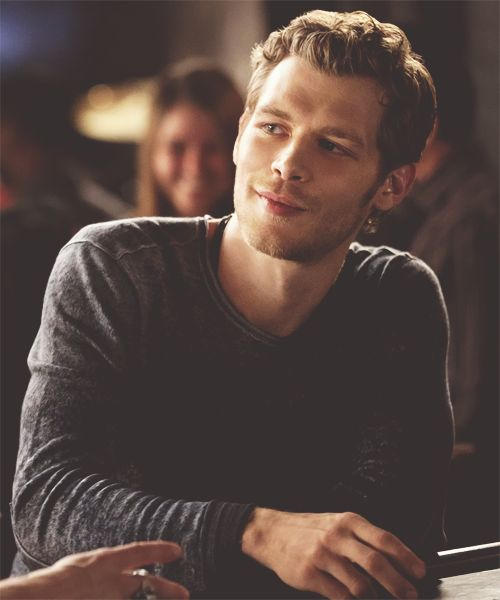 Klaus. Why are you sooo amazing and not mine?? Lol I love him soooo much!!!