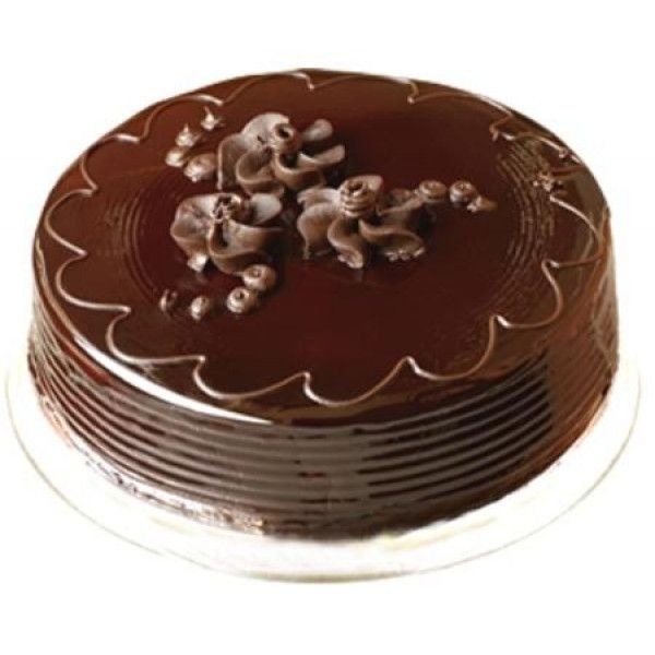 #Chocolate Cake Surprise your #specialone in a #specialway by gifting this yummy #chocolatecake from giftbloomss. Get this lip-smacking 1/2 kg Chocolate Cake prepared to gift a delicious treat to your loved ones.