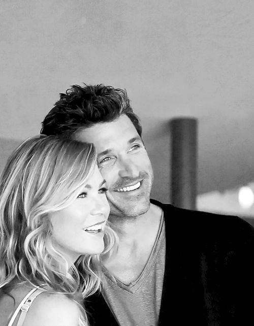 Ellen Pompeo & Patrick Dempsey.  I wish they were married in real life #PerfectCouple