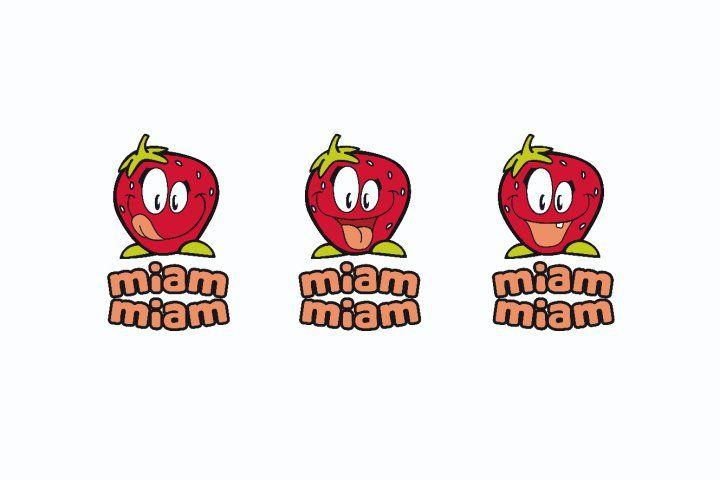 Miam Miam - Label pour nourriture d'enfants