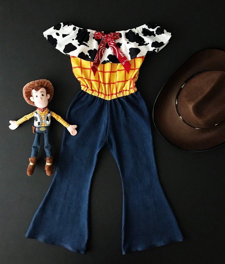Sheriff Woody Inspired Fleur Belle Jumpsuit – Lulu + Ren