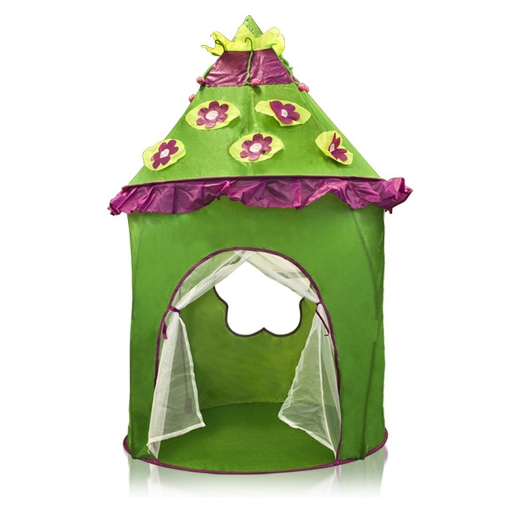 Green Canopy Castle Kids Play Tent is water resistant light weight easy to set  sc 1 st  Pinterest & 13 best Kids Indoor Tents images on Pinterest | Play tents Kids ...
