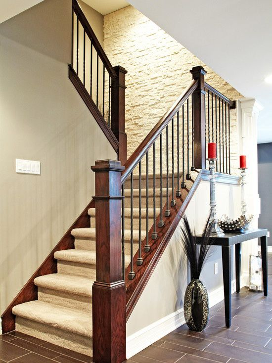 updated stair railings - Google Search