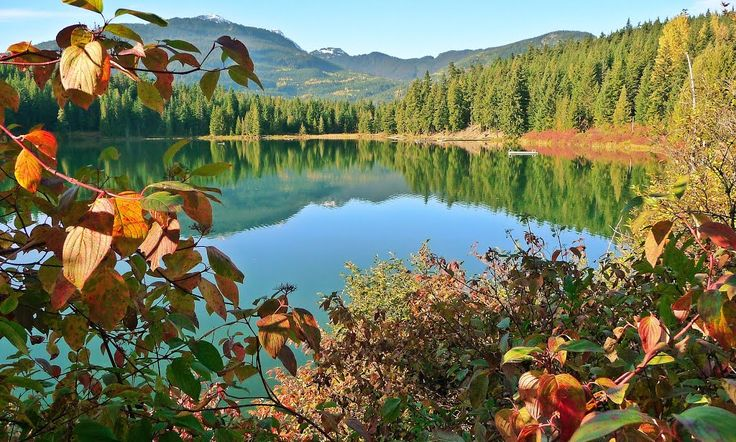 Lost Lake, Whistler, BC, Canada