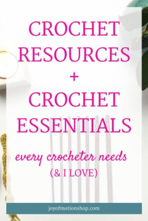 This page is literally filled with crochet resources! You'll see tips on crochet hooks, crochet books, different yarns for crochet, crochet tote bag, crochet mugs & many more crochet resources! Go check them out today!