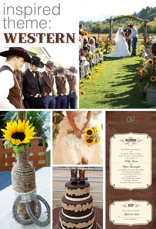 95 best western wedding images on pinterest country weddings western whats your wedding invitation style sciox Images