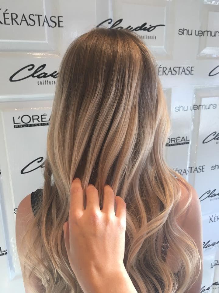 Hair & color by Claudio Coiffure - Balayage par Élodie et mise en plis par Alison