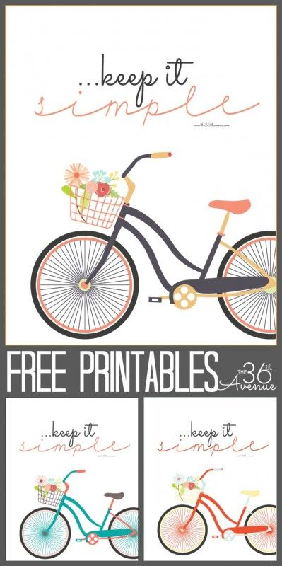 How are we doing today? Me? I am keeping it simple and short with some Free Printables for you my friends!  I hope you guys like them!    Sometimes I need a little reminder that the simple things in life are those that matter the most! Are you ready to print? Click HERE For Keep It Simple in...