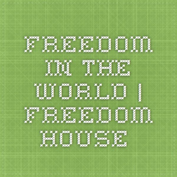 Freedom in the World | Freedom House--